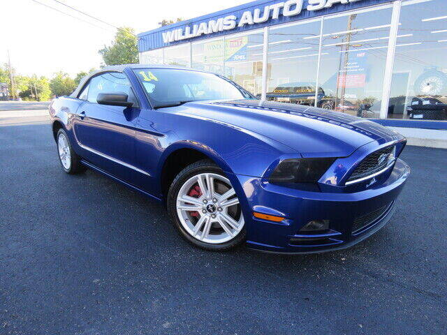 2014 Ford Mustang for sale at Williams Auto Sales, LLC in Cookeville TN