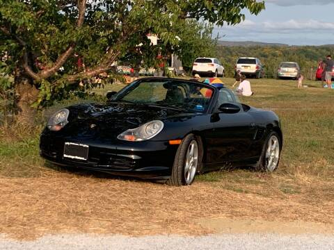 2004 Porsche Boxster for sale at Saratoga Motors in Gansevoort NY