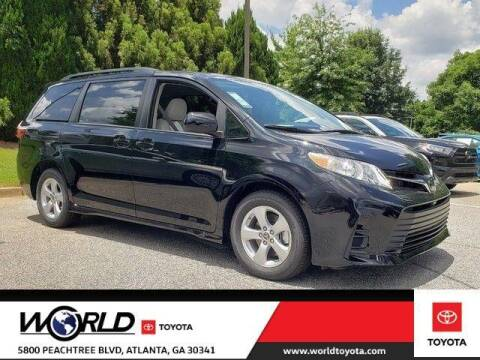 2020 Toyota Sienna for sale at CU Carfinders in Norcross GA