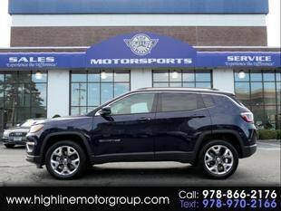2020 Jeep Compass for sale at Highline Group Motorsports in Lowell MA