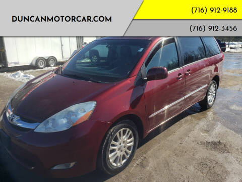 2010 Toyota Sienna for sale at DuncanMotorcar.com in Buffalo NY