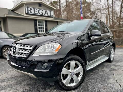 2011 Mercedes-Benz M-Class for sale at Regal Auto Sales in Marietta GA
