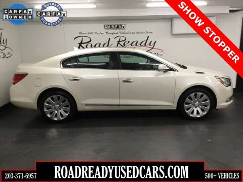 2014 Buick LaCrosse for sale at Road Ready Used Cars in Ansonia CT