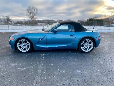 2003 BMW Z4 for sale at Caruzin Motors in Flint MI