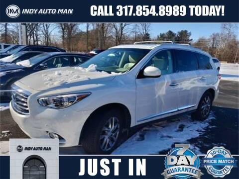 2013 Infiniti JX35 for sale at INDY AUTO MAN in Indianapolis IN