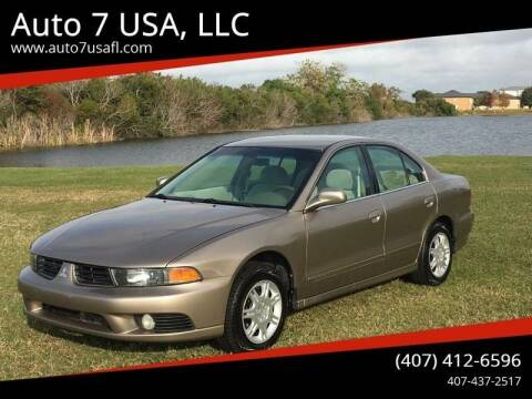 2002 Mitsubishi Galant for sale at Auto 7 USA, LLC in Orlando FL
