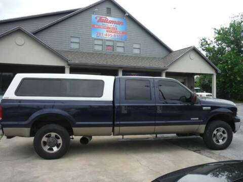 2005 Ford F-250 Super Duty for sale at Don Jacobson Automobiles in Houston TX