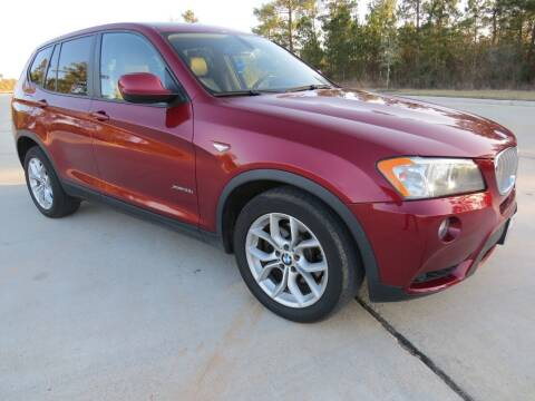 2011 BMW X3 for sale at Fincher's Texas Best Auto & Truck Sales in Tomball TX