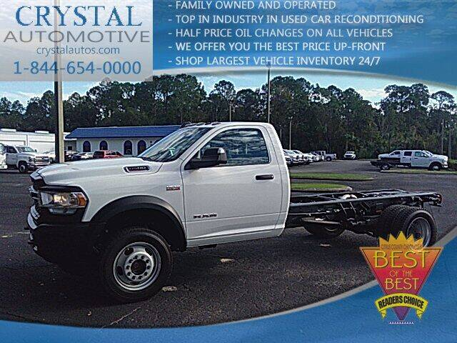 2019 RAM Ram Chassis 4500 for sale at Crystal Commercial Sales in Homosassa FL