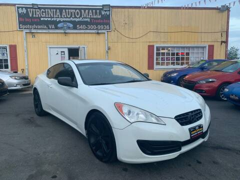 2010 Hyundai Genesis Coupe for sale at Virginia Auto Mall in Woodford VA