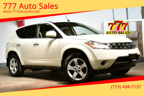 2005 Nissan Murano for sale at 777 Auto Sales in Bedford Park IL