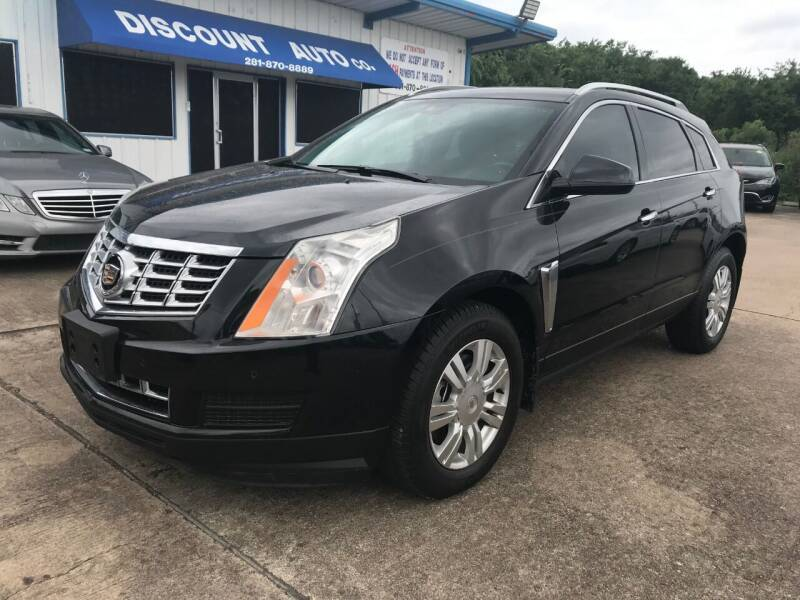 2014 Cadillac SRX for sale at Discount Auto Company in Houston TX