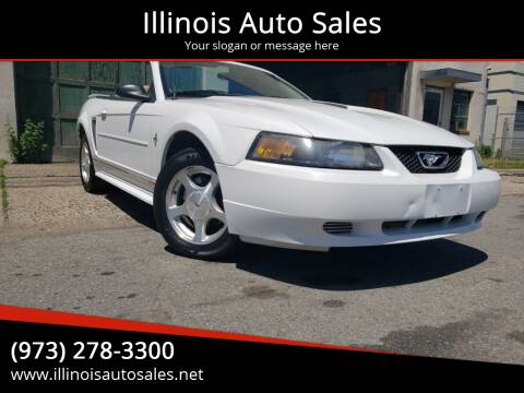 2001 Ford Mustang for sale at Illinois Auto Sales in Paterson NJ