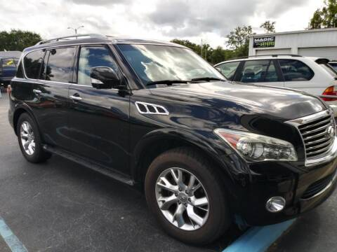 2012 Infiniti QX56 for sale at Tony's Auto Sales in Jacksonville FL