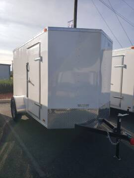 2021 6x10 Standard Enclosed Trailer for sale at Big Daddy's Trailer Sales in Winston Salem NC