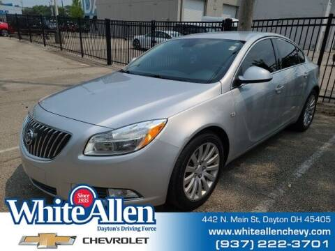 2011 Buick Regal for sale at WHITE-ALLEN CHEVROLET in Dayton OH