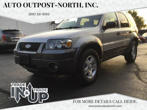 2006 Ford Escape for sale at Auto Outpost-North, Inc. in McHenry IL
