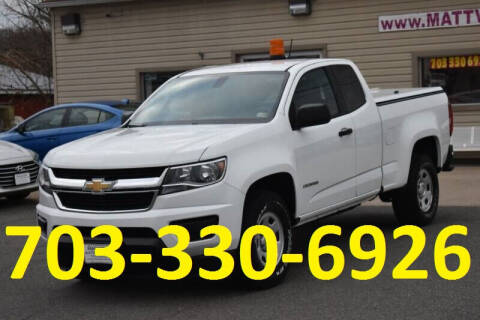 2016 Chevrolet Colorado for sale at MANASSAS AUTO TRUCK in Manassas VA