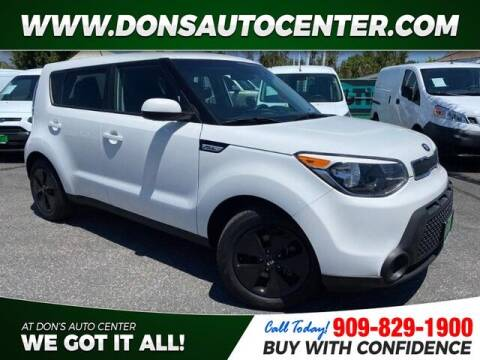 2016 Kia Soul for sale at Dons Auto Center in Fontana CA