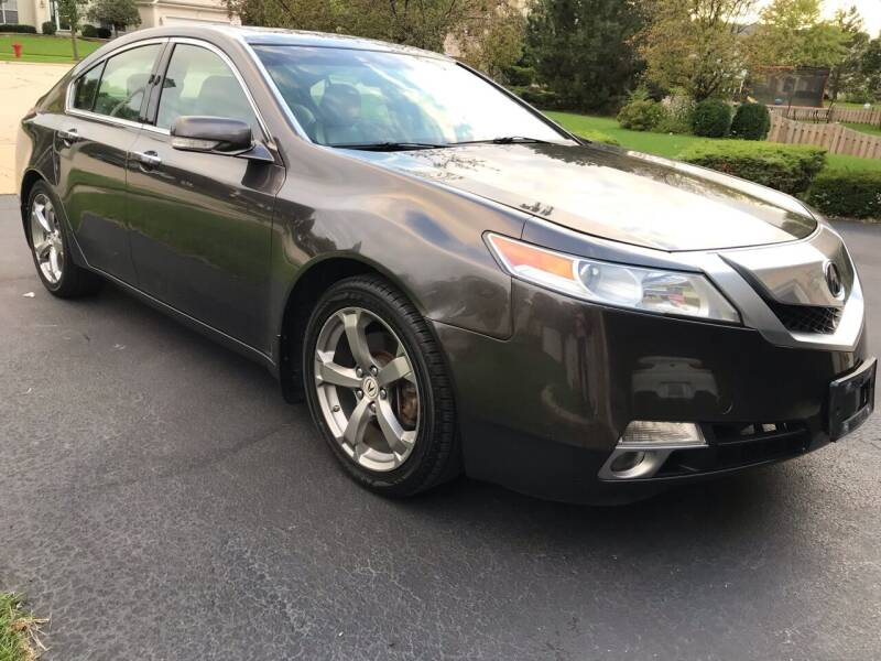 2010 Acura TL for sale at ANYTHING IN MOTION INC in Bolingbrook IL