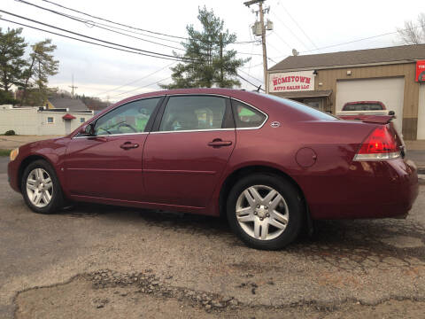 2006 Chevrolet Impala for sale at Jim's Hometown Auto Sales LLC in Byesville OH