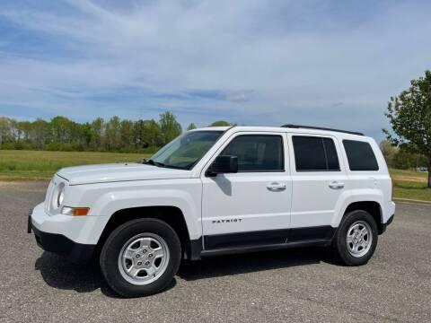 2013 Jeep Patriot for sale at LAMB MOTORS INC in Hamilton AL