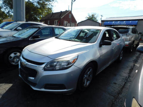2014 Chevrolet Malibu for sale at WOOD MOTOR COMPANY in Madison TN