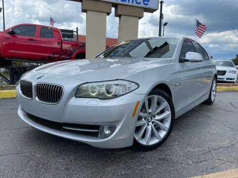 2012 BMW 5 Series for sale at American Financial Cars in Orlando FL