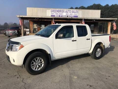 2015 Nissan Frontier for sale at Greenbrier Auto Sales in Greenbrier AR