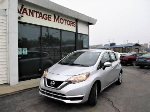 2017 Nissan Versa Note for sale at Vantage Motors LLC in Raytown MO