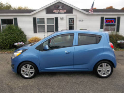 2014 Chevrolet Spark for sale at R & L AUTO SALES in Mattawan MI