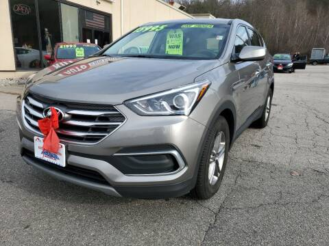 2018 Hyundai Santa Fe Sport for sale at Auto Wholesalers Of Hooksett in Hooksett NH