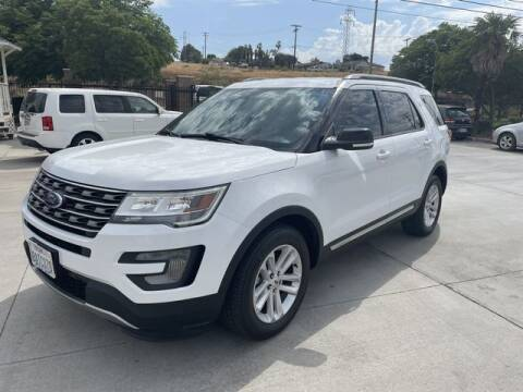 2017 Ford Explorer for sale at Los Compadres Auto Sales in Riverside CA