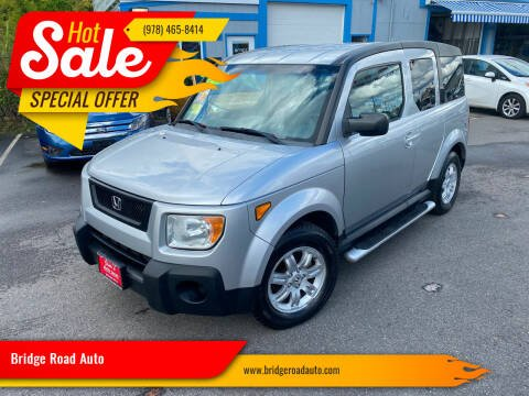 2006 Honda Element for sale at Bridge Road Auto in Salisbury MA