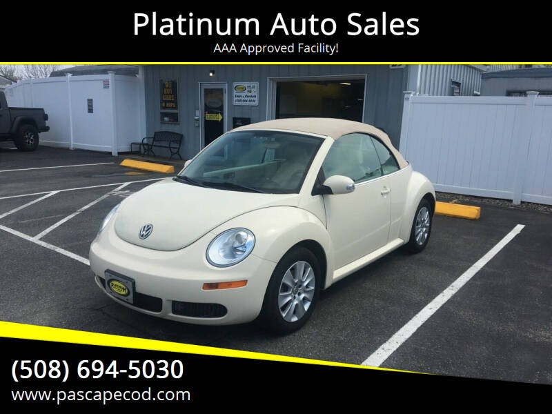 2010 Volkswagen New Beetle Convertible for sale at Platinum Auto Sales in South Yarmouth MA