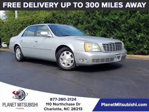 2003 Cadillac DeVille for sale at Planet Automotive Group in Charlotte NC