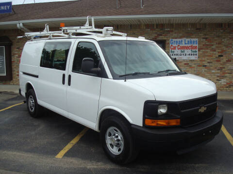 2011 Chevrolet Express Cargo for sale at Great Lakes Car Connection in Metamora MI
