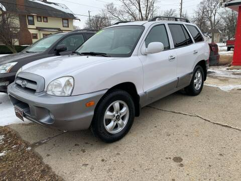 2005 Hyundai Santa Fe for sale at BROTHERS AUTO SALES in Hampton IA