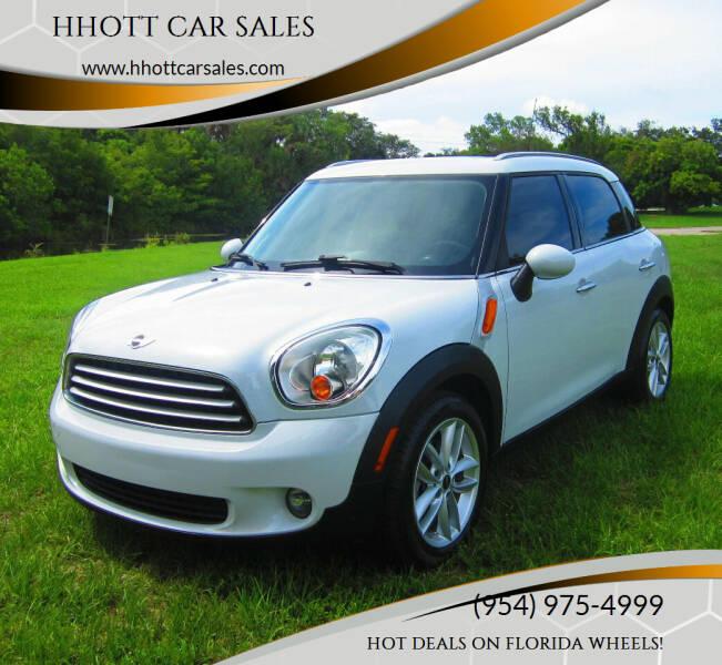 2012 MINI Cooper Countryman for sale at HHOTT CAR SALES in Deerfield Beach FL
