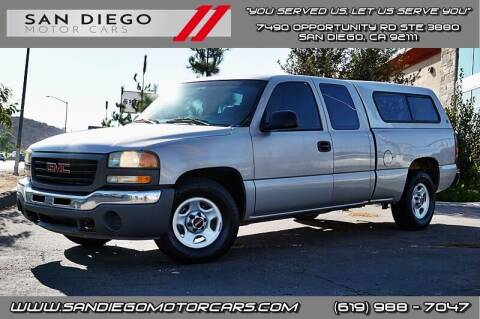 2004 GMC Sierra 1500 for sale at San Diego Motor Cars LLC in San Diego CA
