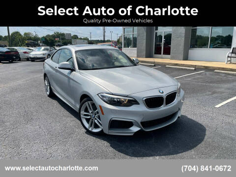 2016 BMW 2 Series for sale at Select Auto of Charlotte in Matthews NC
