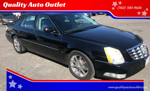 2007 Cadillac DTS for sale at Quality Auto Outlet in Vista CA