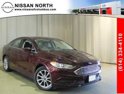 2017 Ford Fusion for sale at Auto Center of Columbus in Columbus OH