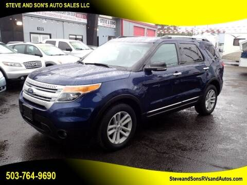 2012 Ford Explorer for sale at Steve & Sons Auto Sales in Happy Valley OR