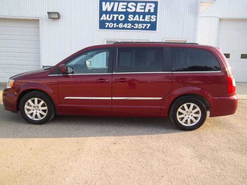 2013 Chrysler Town and Country for sale at Wieser Auto INC in Wahpeton ND
