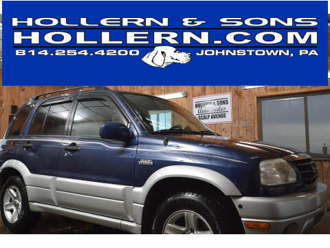 2003 Suzuki Grand Vitara for sale at Hollern & Sons Auto Sales in Johnstown PA