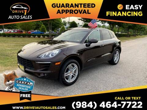2016 Porsche Macan for sale at Drive 1 Auto Sales in Wake Forest NC