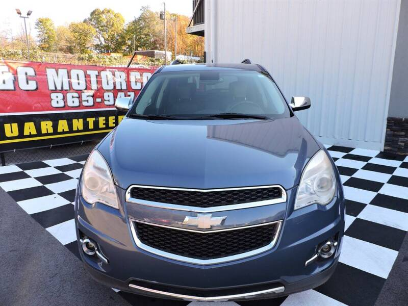 2012 Chevrolet Equinox for sale at C & C Motor Co. in Knoxville TN