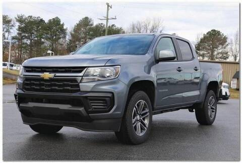 2021 Chevrolet Colorado for sale at WHITE MOTORS INC in Roanoke Rapids NC