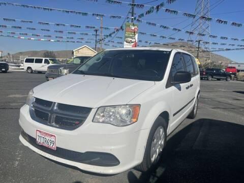 2014 Dodge Grand Caravan for sale at Los Compadres Auto Sales in Riverside CA
